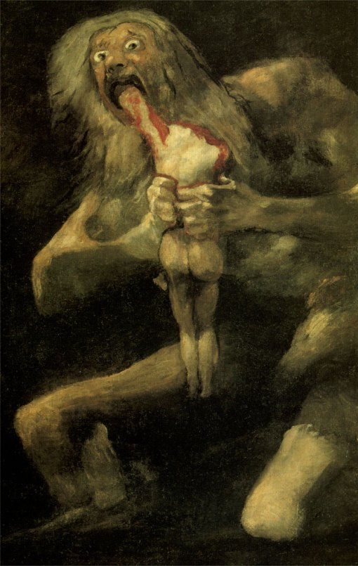 franciscogoya-Saturn-Eating-Cronus