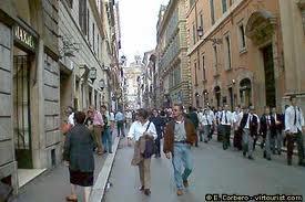 A walk through rome glenn berger ph d for Corner via del corso roma