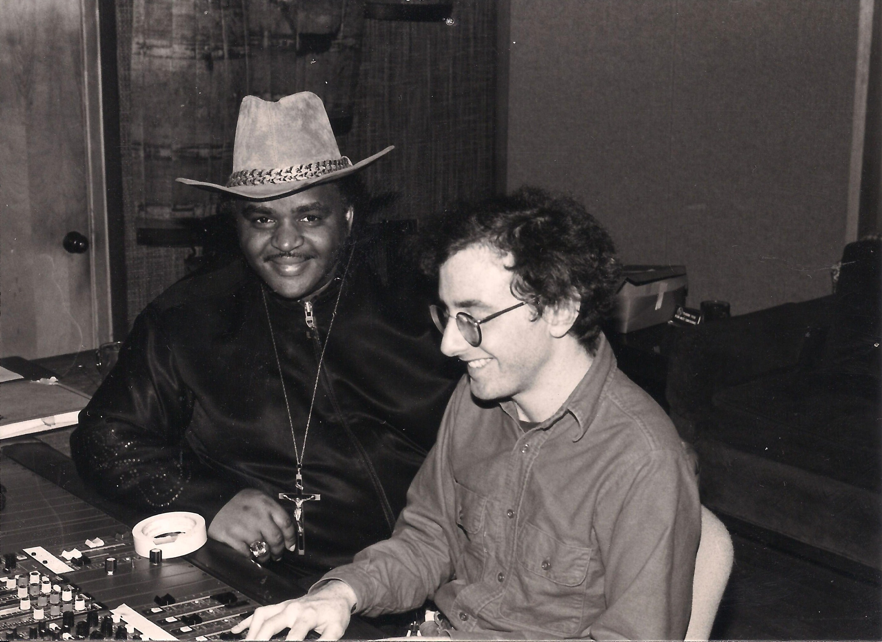 Solomon Burke and Glenn Berger